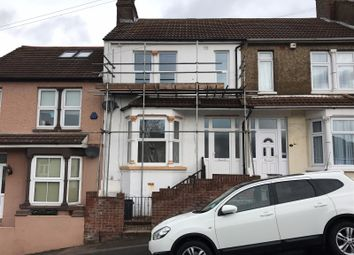 Thumbnail 3 bedroom terraced house to rent in Longfellow Road, Gillingham