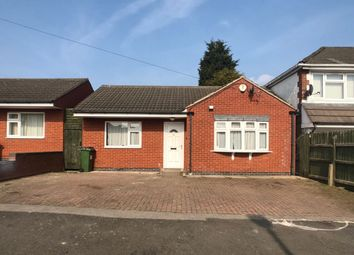Thumbnail 2 bed detached bungalow for sale in Gwencole Crescent, Leicester, 2