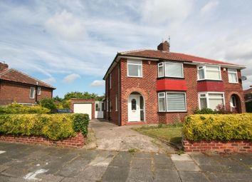 Thumbnail 3 bedroom semi-detached house for sale in Farley Drive, Middlesbrough