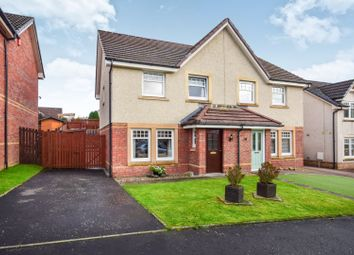 Thumbnail 3 bed semi-detached house for sale in Woodhead Crescent, Glenmavis