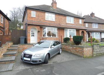 Thumbnail 3 bedroom semi-detached house for sale in Spinney Road, Derby