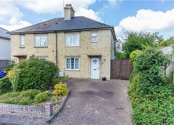 Thumbnail 3 bedroom semi-detached house for sale in Church Lane, Girton, Cambridge
