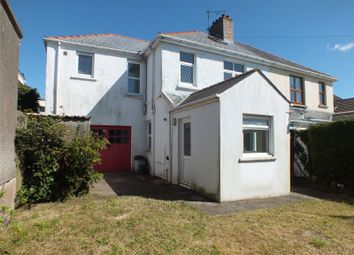 Thumbnail 4 bed semi-detached house for sale in Priory Road, Milford Haven, Pembrokeshire