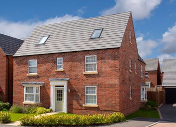 Thumbnail 5 bed detached house for sale in Plot 24, The Moorecroft, Romans Quarter, Bingham