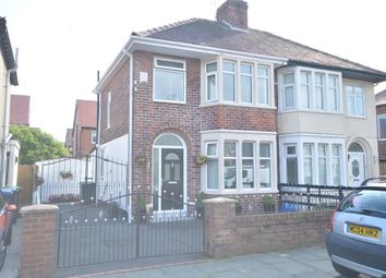 Thumbnail 3 bed semi-detached house for sale in Cheddar Avenue, South Shore, Blackpool