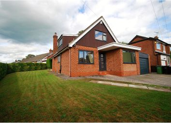 Thumbnail 4 bed detached house for sale in Woodville Drive, Marple