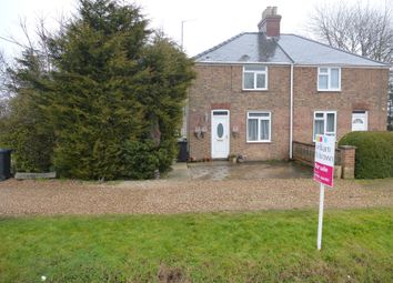 3 bed semi-detached house for sale in West Drove North, Walton Highway, Wisbech PE14