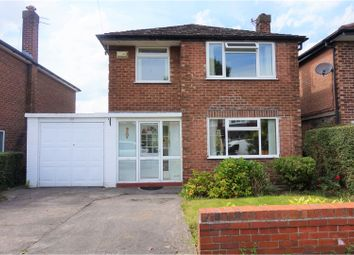 Thumbnail 3 bed detached house for sale in Vicarage Avenue, Cheadle Hulme