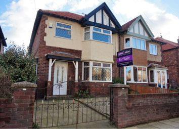 Thumbnail 3 bedroom semi-detached house for sale in Leopold Road, Liverpool