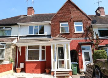 Thumbnail 3 bed terraced house to rent in Harvest Road, Smethwick