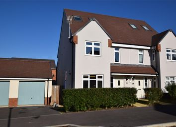 Thumbnail 3 bed town house for sale in Augutus Ave, Keynsham, Bristol