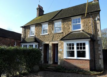 Thumbnail 3 bed semi-detached house to rent in Heath End Cottages, Petworth Road, Godalming