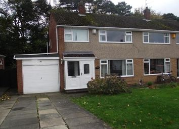 Thumbnail 3 bed semi-detached house to rent in Carlbury Crescent, Darlington