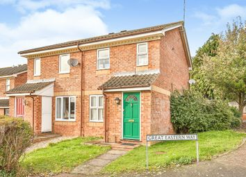 Thumbnail 2 bed semi-detached house for sale in Great Eastern Way, Fakenham