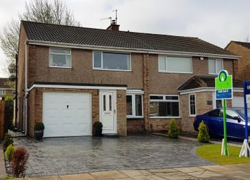Thumbnail 3 bed semi-detached house for sale in Hesleden Avenue, Acklam, Middlesbrough