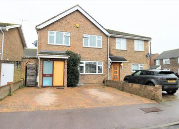 Thumbnail 4 bed semi-detached house for sale in Ashbourne Road, Broxbourne, Herts
