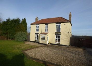Thumbnail 4 bed detached house to rent in North Newbald, York