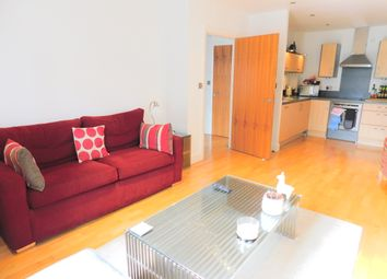 Thumbnail 1 bed flat to rent in Thames Edge, Clarence Street, Staines, Middlesex