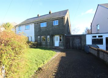 Thumbnail 3 bed semi-detached house for sale in 9 Solway Drive, Anthorn, Wigton, Cumbria