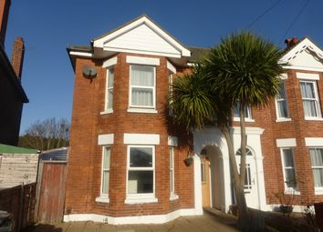 Thumbnail 4 bed semi-detached house for sale in Hannington Road, Boscombe, Bournemouth