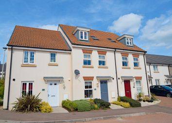 Thumbnail 4 bed town house for sale in Swallow Way, Culllompton