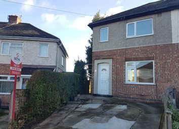Thumbnail 2 bedroom semi-detached house to rent in Pamela Place, Beaumont Leys, Leicester