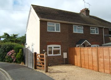Thumbnail 1 bed end terrace house to rent in Hook Lane Close, Rose Green, Bognor Regis