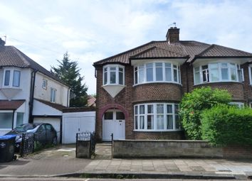 Thumbnail 4 bedroom terraced house to rent in Helena Road, Willesden Green, London