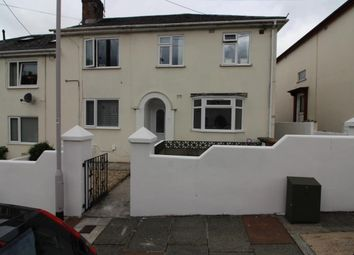 Thumbnail 2 bed flat for sale in Moorfield Avenue, Plymouth