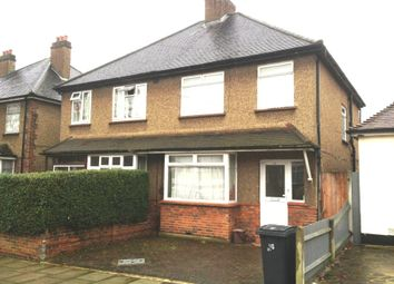 Thumbnail 3 bed semi-detached house to rent in Tolworth Park Road, Surbiton