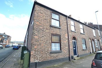 Thumbnail End terrace house to rent in Bond Street, Macclesfield, Cheshire