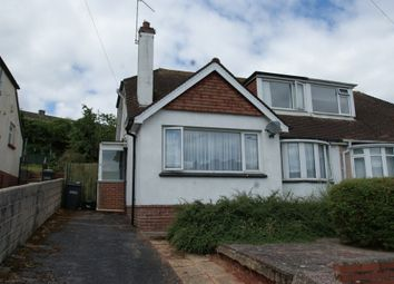 Thumbnail 2 bed semi-detached bungalow for sale in Clifton Crescent, Paignton
