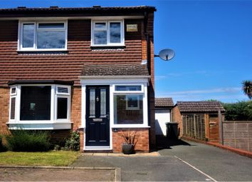 Thumbnail 3 bed semi-detached house for sale in Gatcombe Close, Maidstone