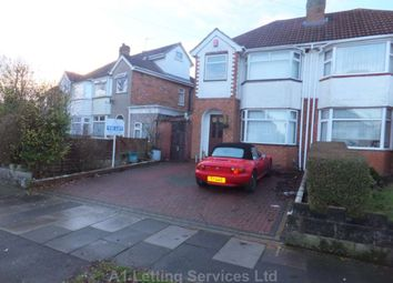 Thumbnail 3 bed semi-detached house to rent in Whitecroft Road, Sheldon, Birmingham