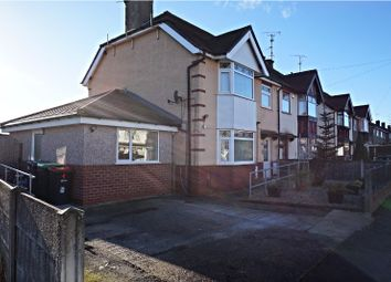 Thumbnail 4 bedroom semi-detached house for sale in Lawrence Avenue, Nottingham