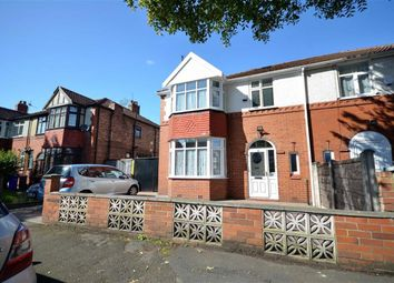 Thumbnail 3 bed semi-detached house for sale in Stratton Road, Whalley Range, Manchester