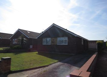 Thumbnail 3 bed bungalow to rent in Fairfield Road, Lowestoft