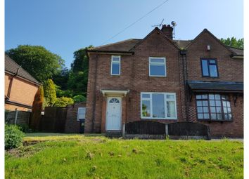Thumbnail 2 bed semi-detached house for sale in Underwood Road, Newcastle