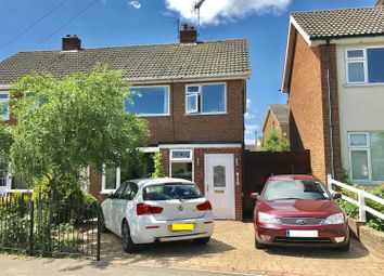 Thumbnail 3 bed semi-detached house for sale in Station Lane, Asfordby, Melton Mowbray