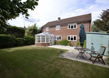 Thumbnail 4 bed detached house for sale in Marlston Road, Hermitage, Thatcham, Berkshire