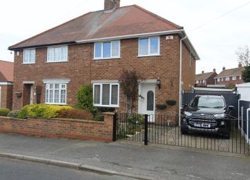 Thumbnail 3 bed semi-detached house for sale in The Hawthorns, Warsop, Mansfield