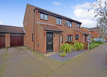 Thumbnail 3 bed semi-detached house for sale in Drewray Drive, Taverham, Norwich