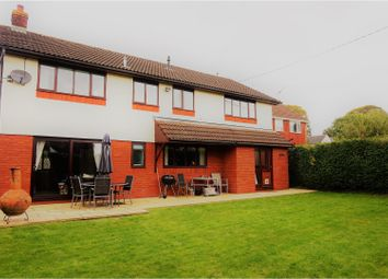 Thumbnail 4 bed detached house for sale in Pwllmeyric, Chepstow