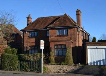 Thumbnail 4 bed detached house for sale in The Ridgeway, Tonbridge