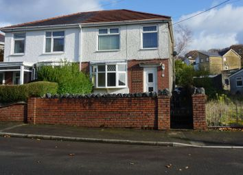 3 bed semi-detached house for sale in Lewis Road, Crynant, Neath SA10