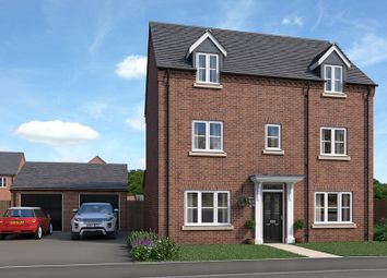 Thumbnail 4 bed detached house for sale in Wentworth Road, Kirkby-In-Ashfield, Nottingham
