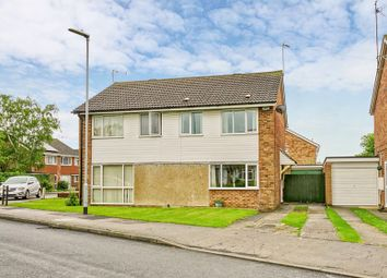 Thumbnail 3 bed semi-detached house for sale in Hill Close, Sawtry, Huntingdon