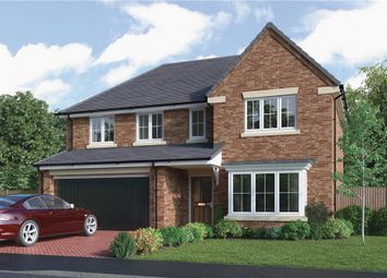 """Thumbnail 5 bed detached house for sale in """"The Bayford"""" at Choppington Road, Bedlington"""