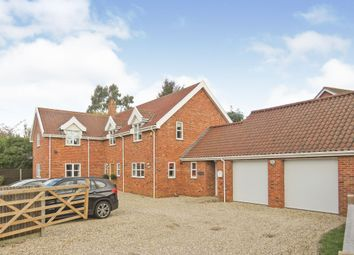 Thumbnail 4 bedroom detached house for sale in Mattishall Road, Dereham
