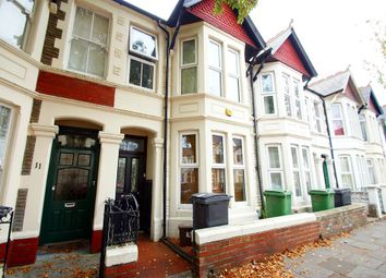 Thumbnail 4 bedroom terraced house to rent in Canada Road, Gabalfa, Cardiff